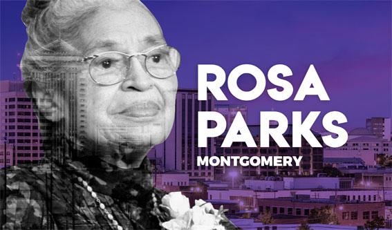 rosa parks - Dünyada İz Bırakan Kadınlar ve Şehirleri