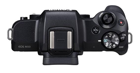 01 EOS M50 BK TOP Body - İnceleme: Canon EOS M50