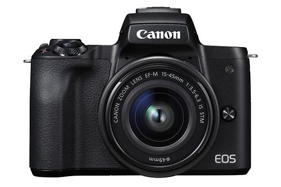 19 EOS M50 BK The Front EF M15 45 STM - İnceleme: Canon EOS M50