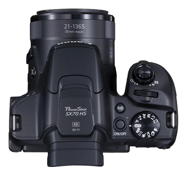 1538986731 12 PowerShot SX70 HS BK TOP - Canon PowerShot SX70 HS