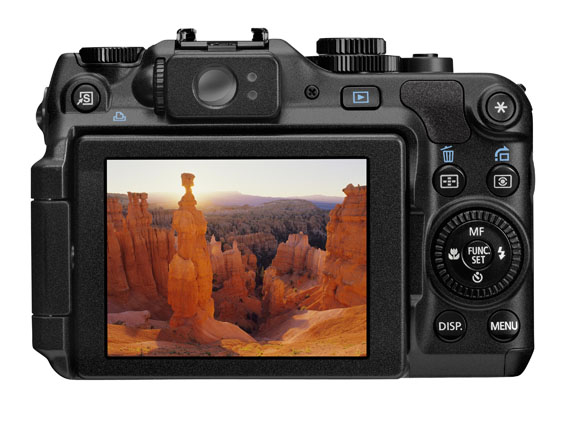 PowerShot G12 BCK LCD