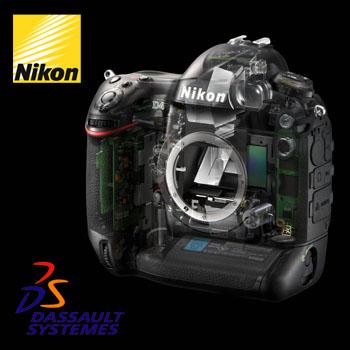 Nikon'un fikirleri Dassault Systèmes'le hayat bulacak