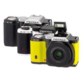Pentax'tan farklı bir tasarım: K-01