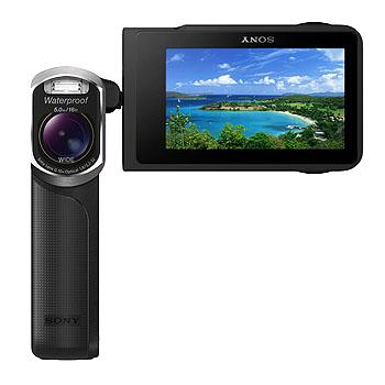 Sony'den su geçirmez video kamera