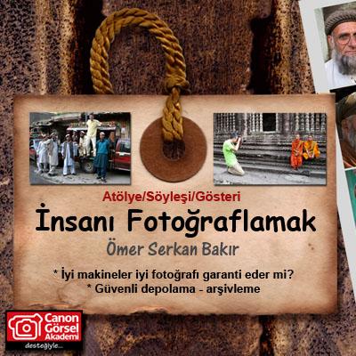 İnsanı Fotoğraflamak Semineri AFAD'da…