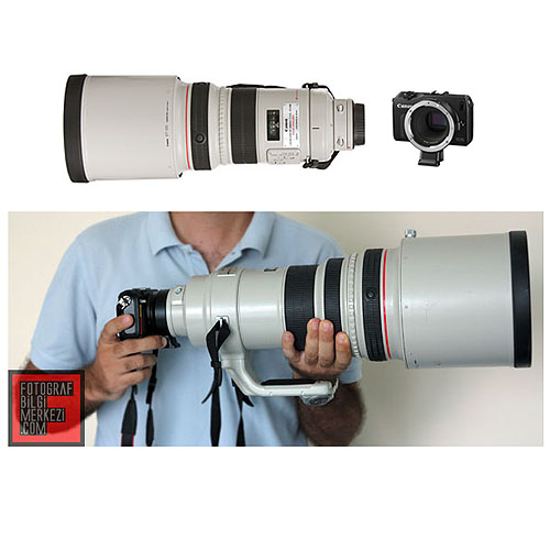 Canon EOS M'de 400mm'yi denedik