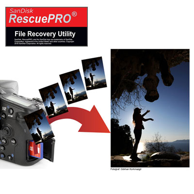 Bellek kartında silinmiş fotoğraflarınızı kurtarabilirsiniz!