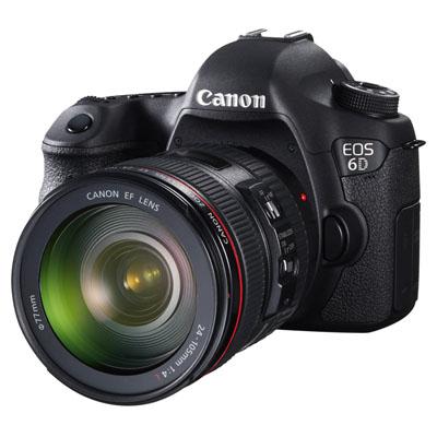 Canon EOS 6D duyuruldu