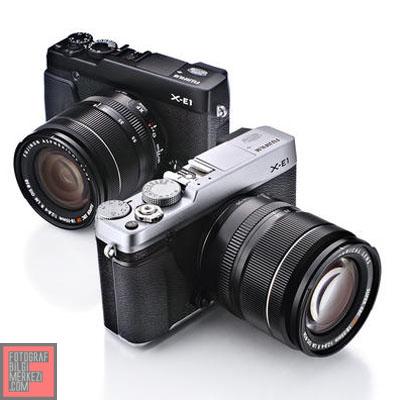 Fujifilm'in ikinci aynasızı: X-E1