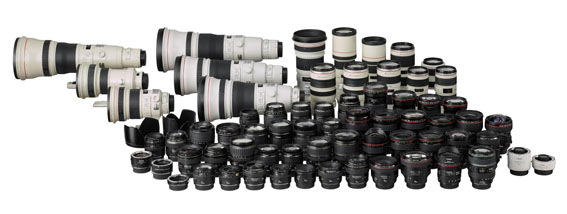 Canon 80 milyonuncu EF objektifi üretti
