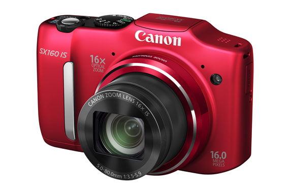 PowerShot SX160 IS RED FSL