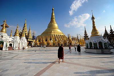 Rota: Myanmar – Yangon
