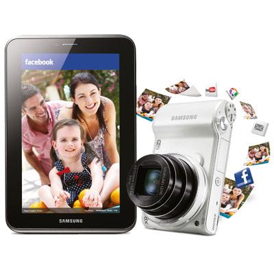 Samsung Smart fotoğraf makinesi ve tablet bir arada