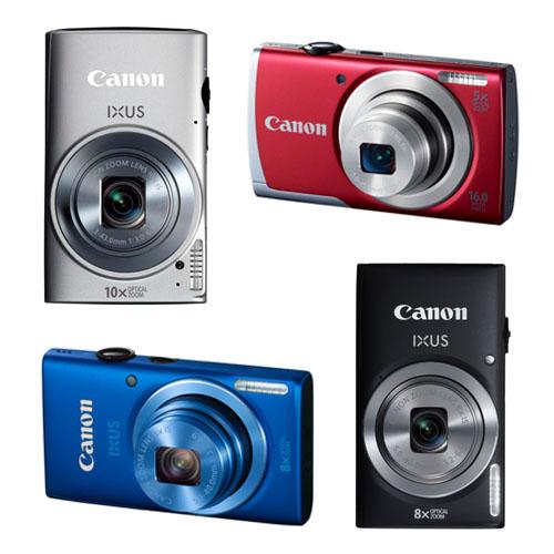 Canon'dan dört yeni kompakt