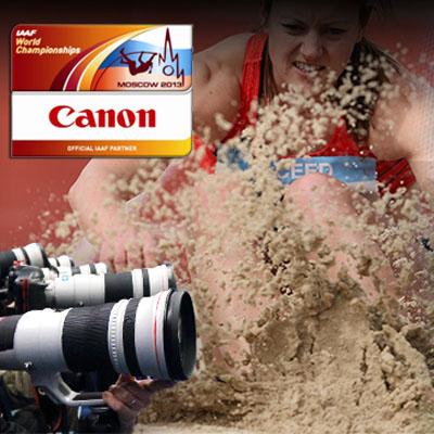 Canon, IAAF Dünya Şampiyonası'nda
