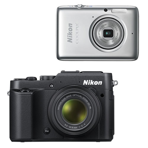 Nikon Coolpix P7800 ve Coolpix S02