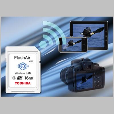 FlashAir kartlar hızlandı