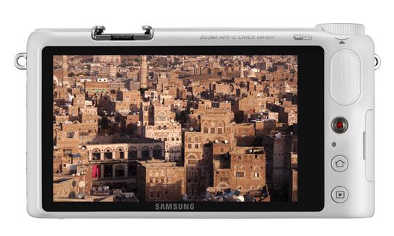 Samsung NX2000 Beyaz 2 k
