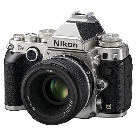Klasik Dizaynlı Nikon Df Tanıtıldı