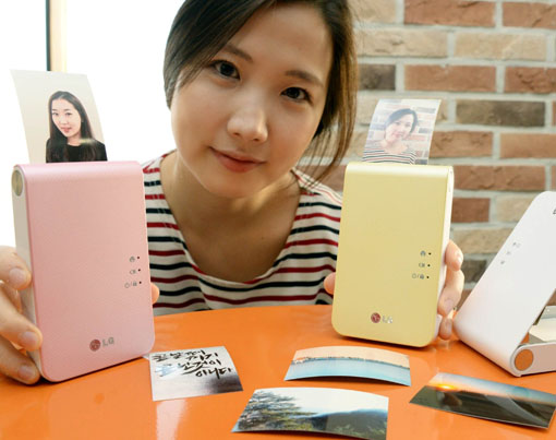 LG'den yeni Pocket Photo