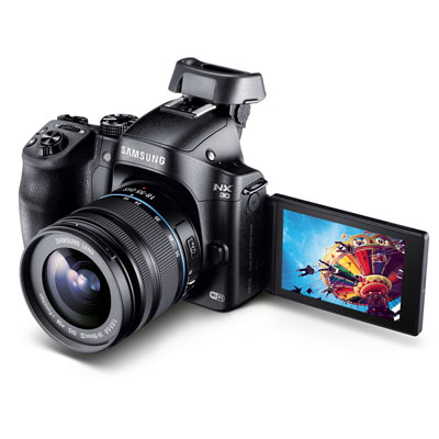 Samsung NX30 ve Galaxy Camera 2