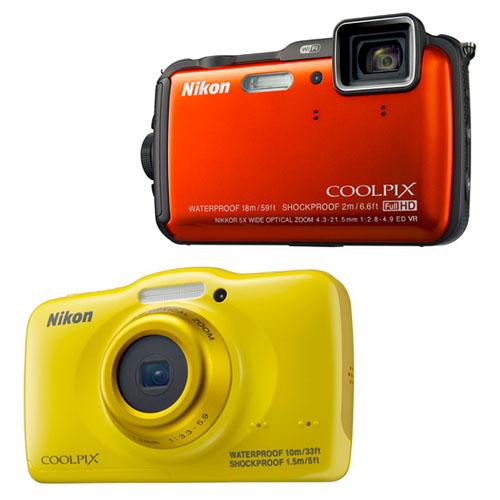 Nikon'dan iki yeni dayanıklı kompakt