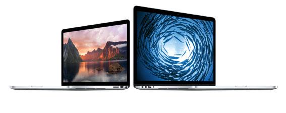 Apple Retina Ekranlı MacBook Pro'yu Güncelledi