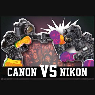 Nikon, Canon'u Ezecek mi?