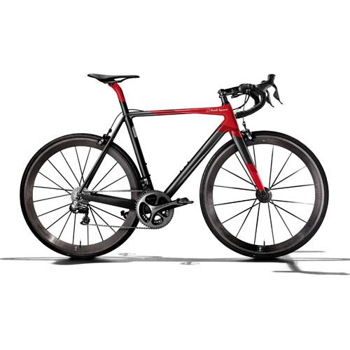 Audi praesentiert erstes Rennrad aus Carbon