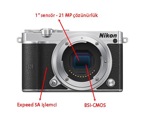 Nikon 1 J5 ürün görselleri