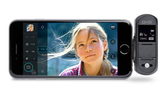 DxO ONE iPhone APri