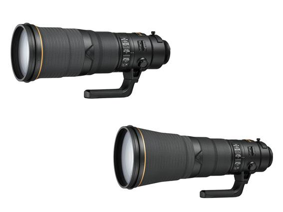 Nikon'dan yeni 500mm ve 600mm