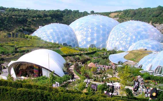 EDEN+PROJECT.+CORNWALL.+INGILTERE
