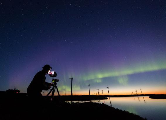 Norveç'in 'Kuzey Işıkları' Canon'la filme çekildi