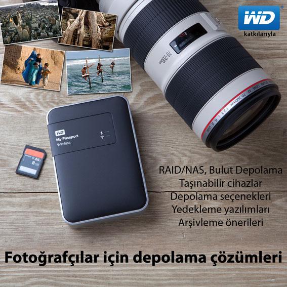 'Fotoğrafçılar için depolama çözümleri' Seminerleri