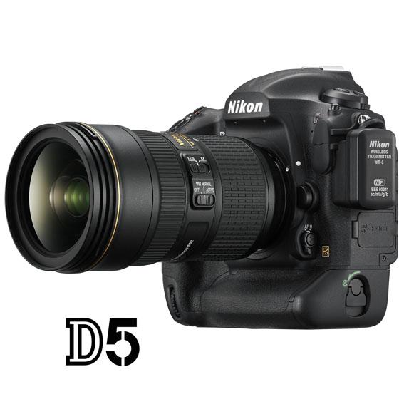 Nikon D5 tanıtım videosu