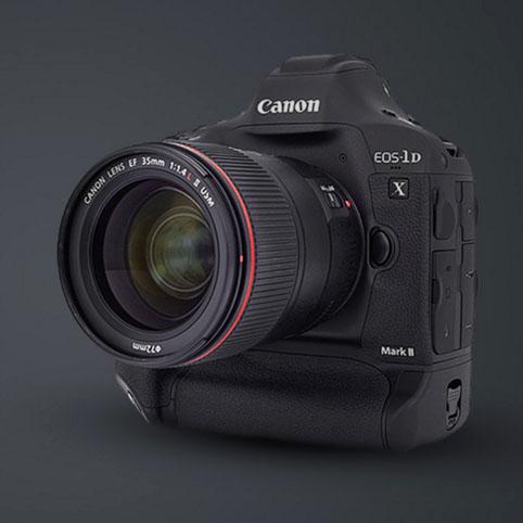 Canon EOS-1D X Mark II tanıtım videosu
