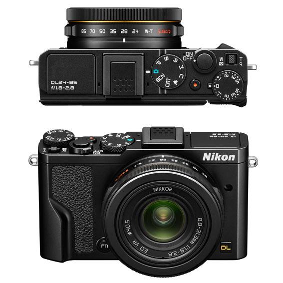 Nikon DL Kompakt Fotoğraf Makineleri