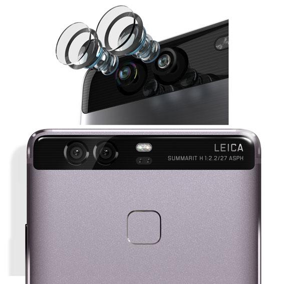 Çift Leica kameralı Huawei P9