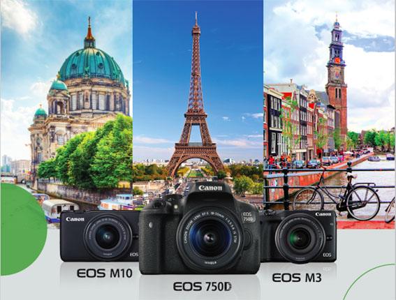 Bu Canon modelleri Avrupa bileti hediyeli!