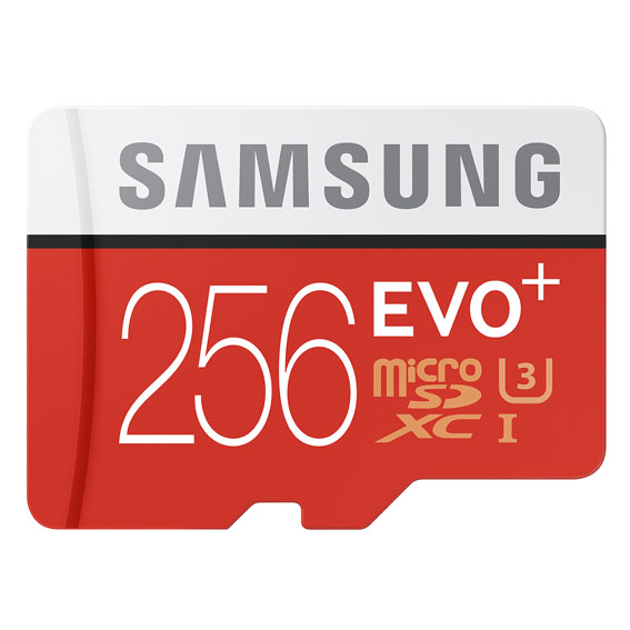 Samsung EVO Plus 256GB MicroSD