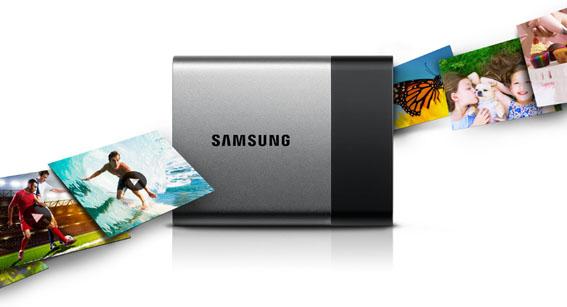Samsung Taşınabilir SSD T3 Türkiye'de…