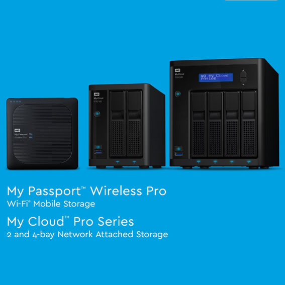 1466576436 My Passport Wireless Pro ve My Cloud Pro Serisi Gorsel - WD Pro Serisine 2 yeni model