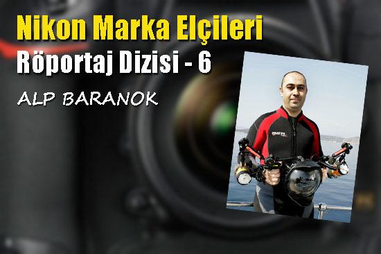 Sualtının başarılı fotoğrafçısı: Alp Baranok