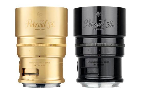 Lomography Petzval 58mm Sanat Lensi