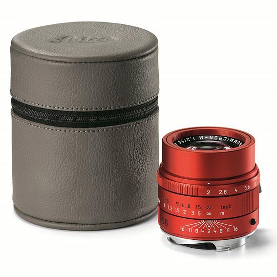 Leica yeni yıl için kırmızıya boyadı!