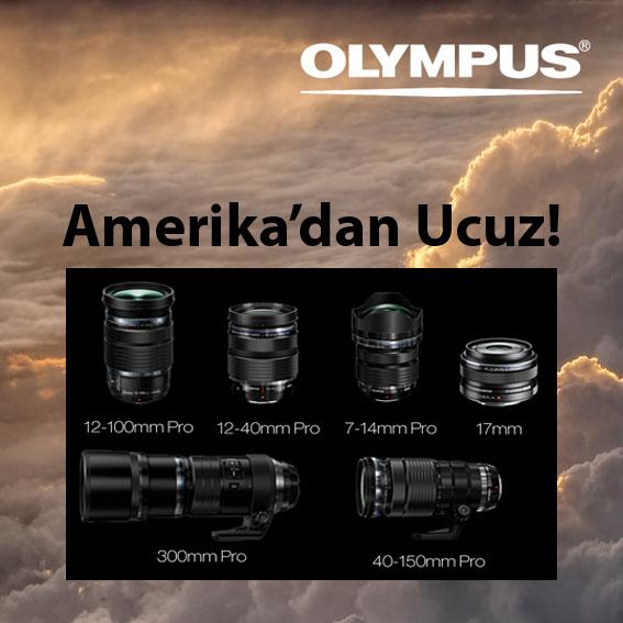 """Olympus'tan """"Amerika'dan Ucuz"""" Kampanyası"""