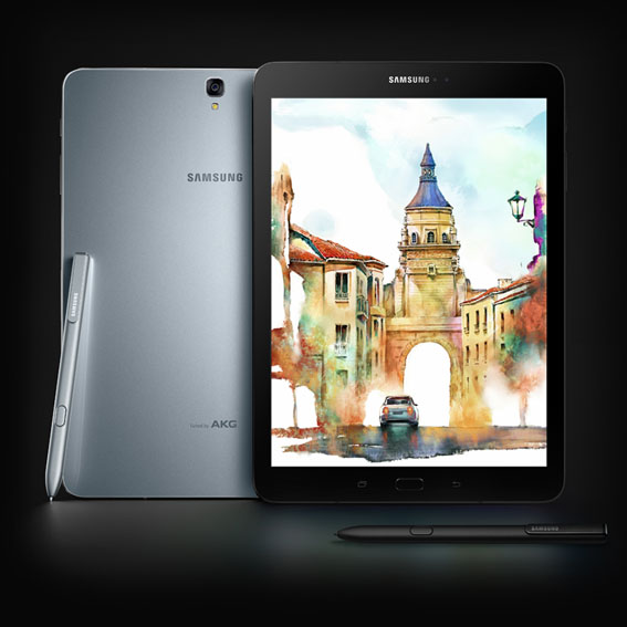 Samsung Galaxy Tab S3 ve Galaxy Book