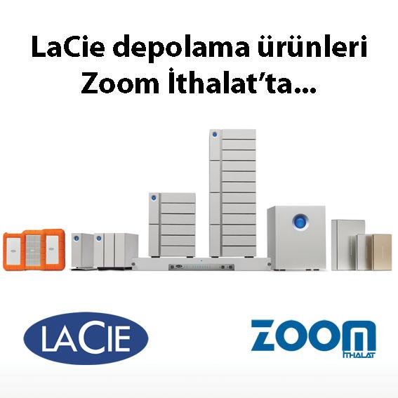 LaCie ve Zoom İthalat İşbirliği…
