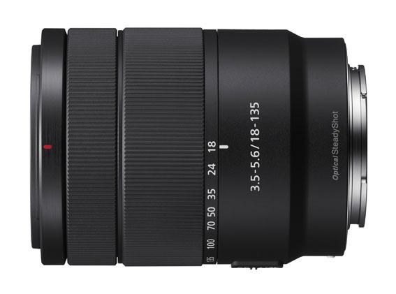 Sony E 18-135mm objektif